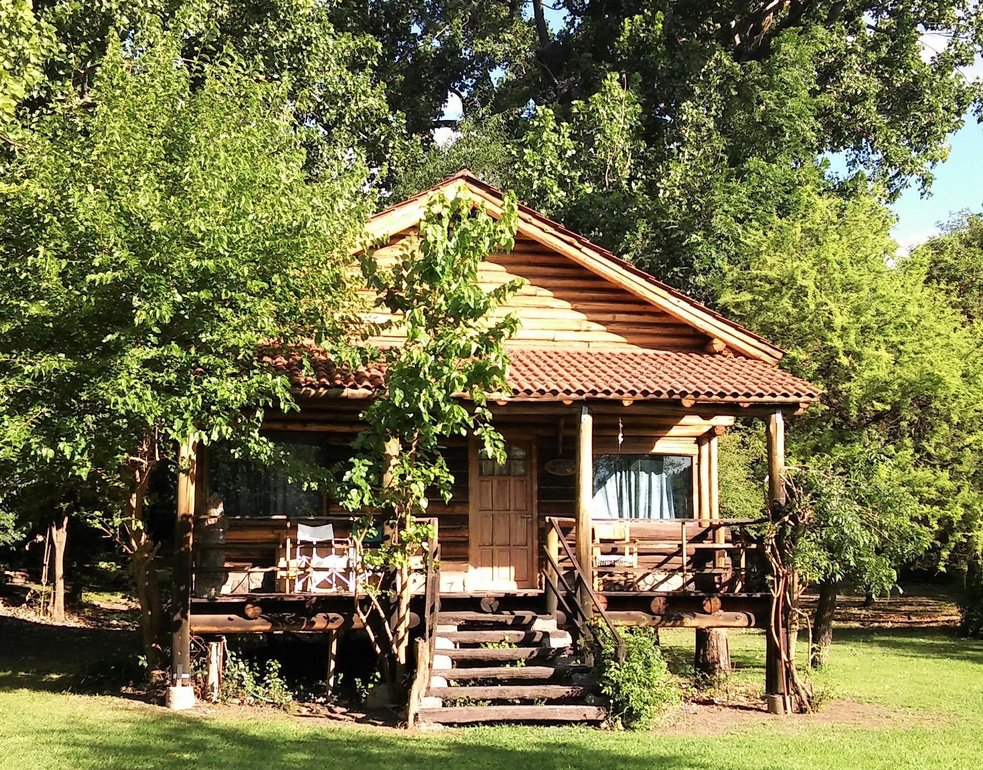Cabaña de tronco en Merlo